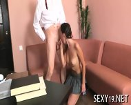 Horny Teacher Devouring Lass - scene 1