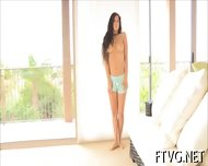 Gal Plays With Vibrator - scene 7