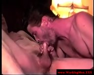 Mature Redneck Bear Sucking Dick - scene 11