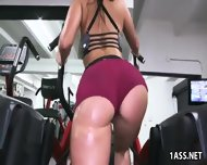 Valerie Kay, Arianna Knight And Bianca In The Gym - scene 3