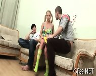 Virgin Seduced To Have 3some - scene 6