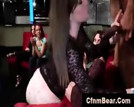 Public Blowjobs Of Strippers By Amateur Babes At Cfnm Party - scene 8