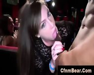 Public Blowjobs Of Strippers By Amateur Babes At Cfnm Party - scene 9