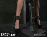 Chained Up Babe Is Punished - scene 9