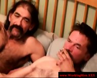 Old Straight Mature Bears Smoke And Hj - scene 10