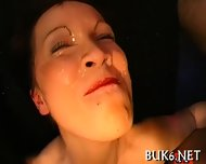 Babe S Face Is Filled With Jizz - scene 2