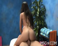 Tanned Sweetie Enjoys Dick Ride - scene 4