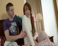 Banging Hot Babe On The Couch - scene 7