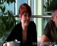 Sexy Couple Wanna Be Part Of Xxx Reality Show Of Swingers - scene 1