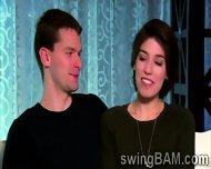 Sexy Couple Wanna Be Part Of Xxx Reality Show Of Swingers - scene 5