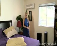 Milf Punishes Her Step Son For Spying Her While Changing Her Clothes - scene 6