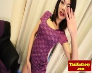 Thai Tgirl With Braces Gives Solo Show - scene 1
