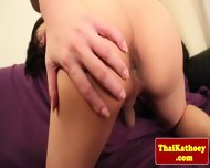 Thai Tgirl With Braces Gives Solo Show - scene 9