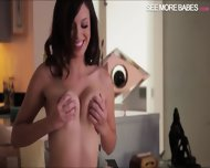 Teen Jade Nile Teasing Her Nipples And Pleasuring Herself - scene 9