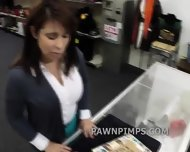 Pawn Shop Milf Sells Herself To The Shop - scene 1