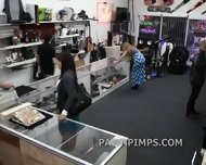 Pawn Shop Milf Sells Herself To The Shop - scene 3