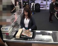 Pawn Shop Milf Sells Herself To The Shop - scene 4