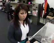 Pawn Shop Milf Sells Herself To The Shop - scene 5