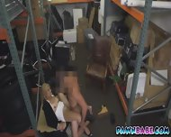 A Sexy Blonde Milf At The Backroom Moaning So Loud While Being Pounded - scene 10