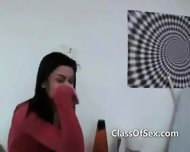 Teen Girls Record Home Made Oral Sextape - scene 6