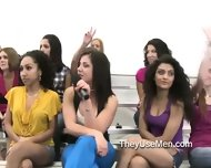 Crowd Of Women Ready To Dominate Men - scene 9