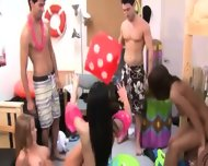 Young Students Deepfucking On College Party - scene 3