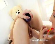 Sweet Girls Deep Dildoing Anuses - scene 8