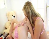 Sweet Girls Deep Dildoing Anuses - scene 4