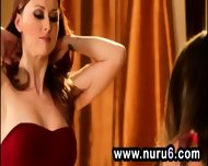 Threesome Pornstar Lesbian Massage - scene 4