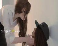 Redhear Lesbian Lover Penetrated Hard - scene 1