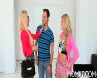 Randy And Raunchy Threesome - scene 2