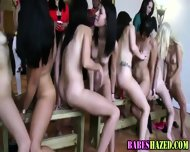 Teen Lezbo Toy Hazing - scene 1