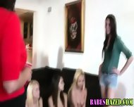 Teen Lezbo Toy Hazing - scene 8