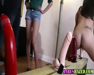 Teen Lezbo Toy Hazing - scene 9