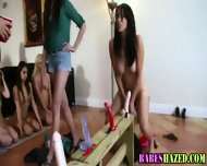 Teen Lezbo Toy Hazing - scene 4