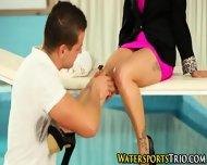 Piss Soaked Classy Slut - scene 2