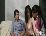 Outstanding And Randy Threesome - scene 9