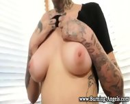 Emo Slut In Tats Sucks - scene 5