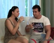 Horny Teen Girl Goes Home With A Stranger - scene 6