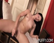 Babe Is Clipping Her Pussy Lips - scene 7