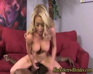 Black Cock Fucking Whore - scene 8