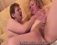 Blonde Granny Loves Her Curious Redhead Girlfriend - scene 10
