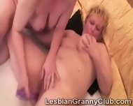 Blonde Granny Loves Her Curious Redhead Girlfriend - scene 3