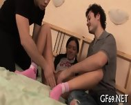 Teen Having Threesome - scene 2