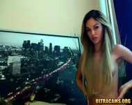 Hottest Blonde Ever On Webcam Pt2 - scene 8