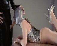 Luxury Strapon Lezzies In Mask Playing - scene 5