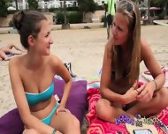 Bikini Chat With Titiana And Michelle From Switzerland - scene 8