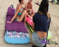 Bikini Chat With Titiana And Michelle From Switzerland - scene 3