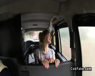 Tattoooed Brit Giving Rimjob And Fucking In Fake Taxi - scene 2