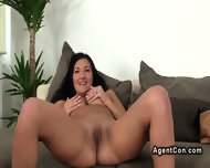 Tanned Euro Babe Tits Banged On Casting Pov - scene 2
